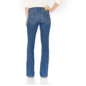 Levi's curvy fit bootcut jeans 8L